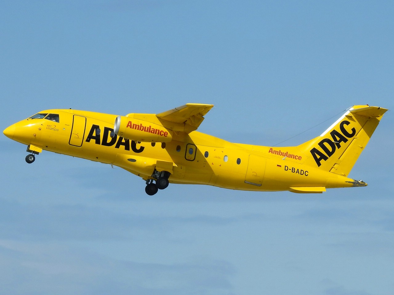 Click image for larger version.  Name:D-BADC ADAC Luftrettung (Aero-Dienst) Dornier Do-328JET-310.jpg Views:34 Size:163.9 KB ID:21404