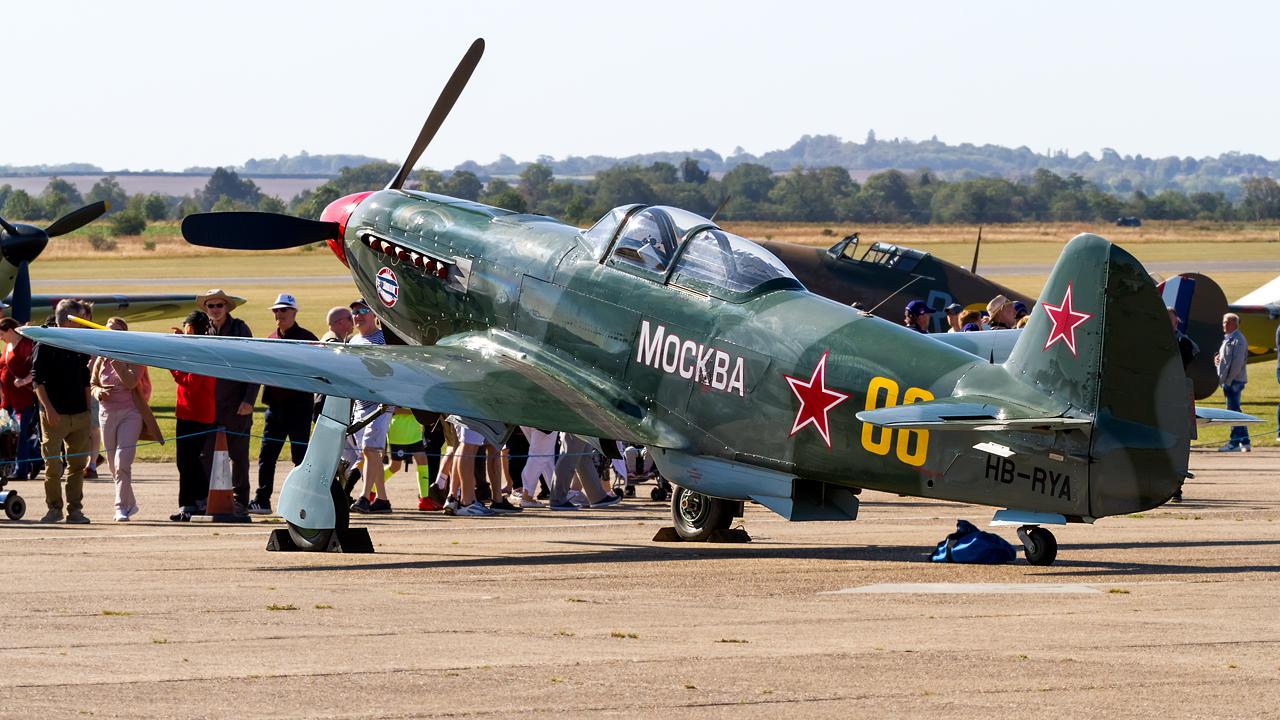 Click image for larger version.  Name:Private owner Yakovlev Yak-9UM REG- HB-RYA.jpg Views:17 Size:808.4 KB ID:28705